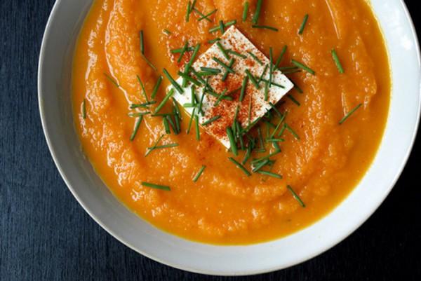 Рецепт                  Постный морковный мисо-суп
