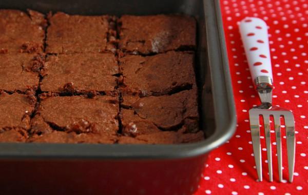 Рецепт                  Брауни из горького шоколада
