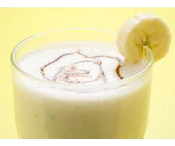 Рецепт                  Банановый коктейль