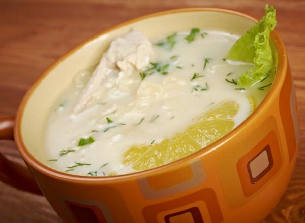 Рецепт                  Греческий суп авголемоно