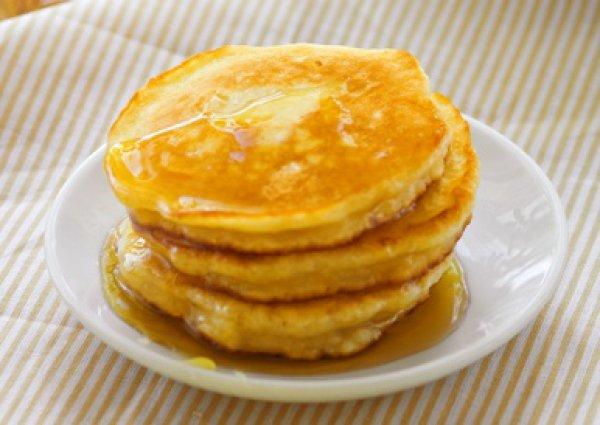 Рецепт                  Апельсиновые оладьи с медом
