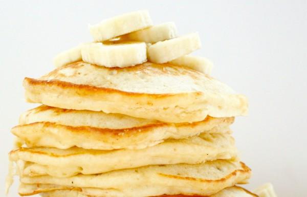 Рецепт                  Банановые оладьи с овсянкой
