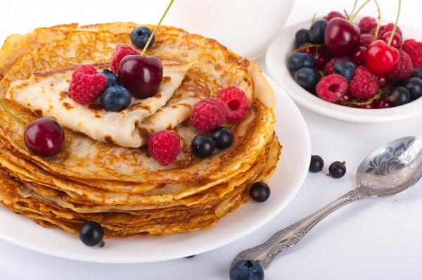 Рецепт                  Масленица 2015: Рецепт блинов на кефире без яиц