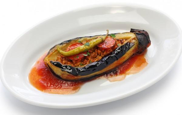 Рецепт                  Фаршированные баклажаны по-турецки