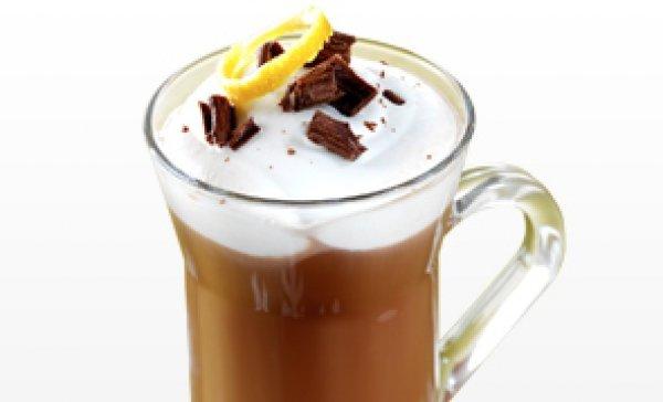 Рецепт                  Горячий шоколад с апельсиновым ликером