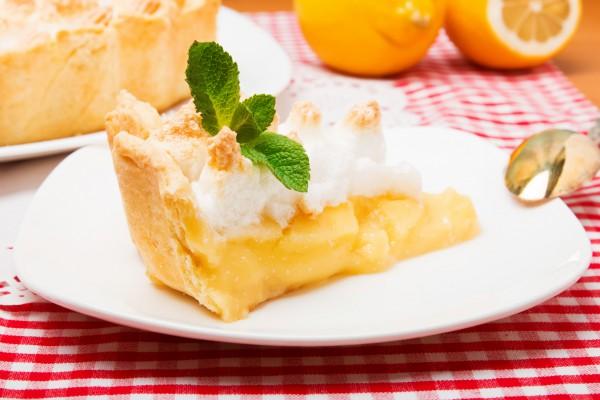 Рецепт                  Лимонный пирог с безе от Джейми Оливера