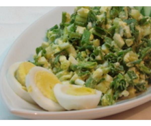 Рецепт                  Салат из зеленого лука