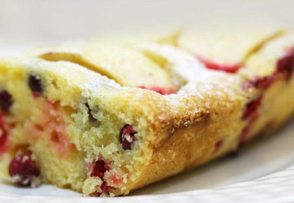 Рецепт                  Бретонский пирог с клюквой и яблоками