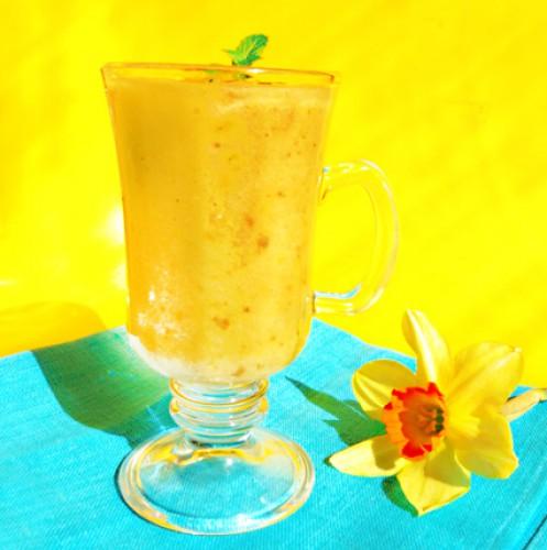 Рецепт                  Бананово-грушевый смузи