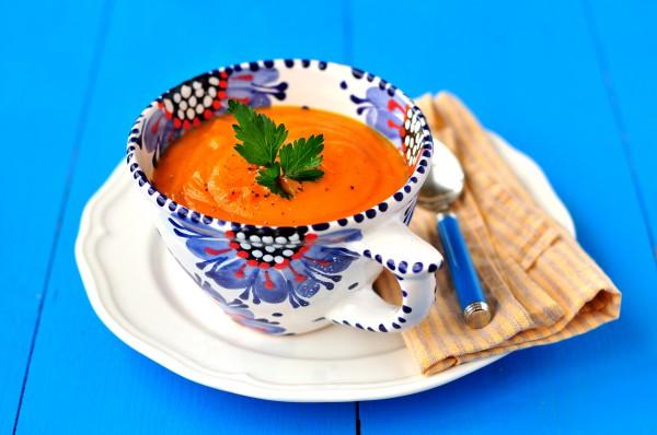 Рецепт                  Весенний суп из моркови и картофеля