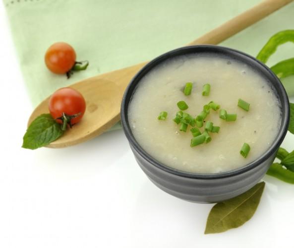 Рецепт                  Постный картофельный суп-пюре