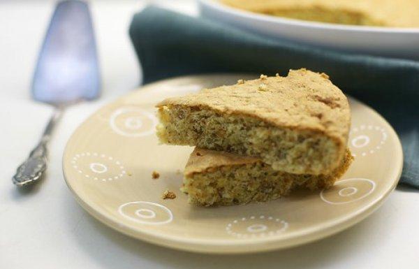 Рецепт                  Простой ореховый пирог