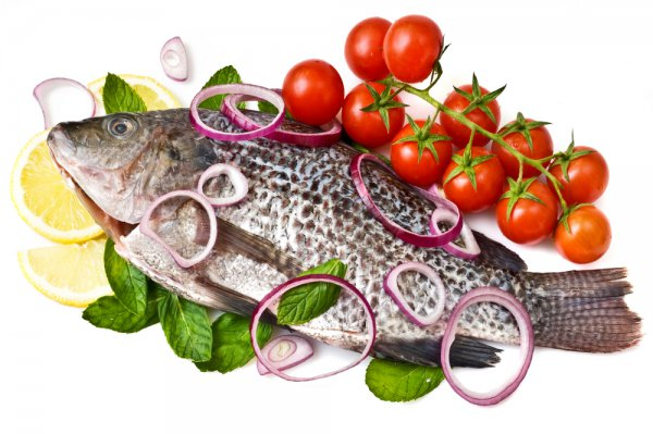 Рецепт                  Рыба, запеченная с овощами
