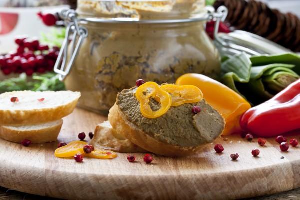 Рецепт                  Рецепты на Новый год: Паштет из печени с овощами