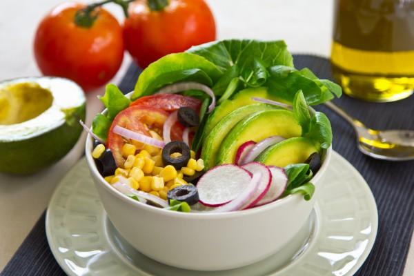Рецепт                  Салат из редиса и авокадо