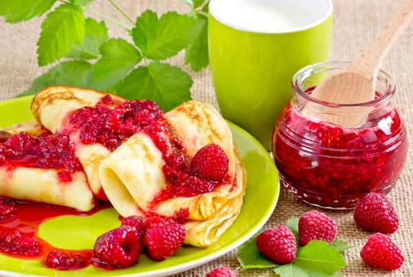 Рецепт                  Малиновое варенье без сахара