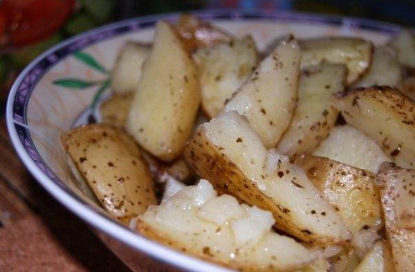 Рецепт                  Печеный картофель по-кипрски